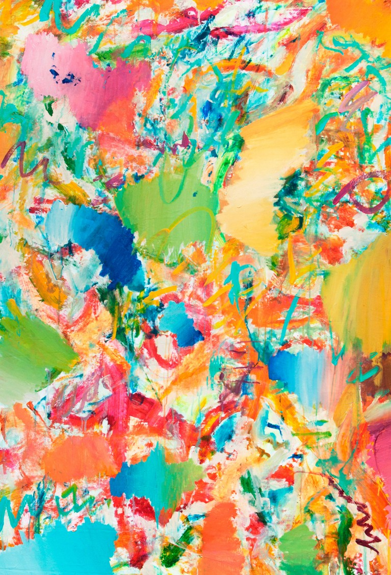Pablo Manso. HÚMEDOTROPICAL - acrylic on canvas — 120 cm x 110 cm - 2019