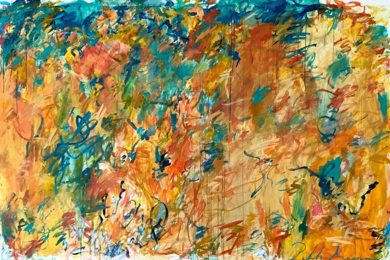 Pablo Manso. ECUADOR - acrylic on canvas — 300 cm x 200 cm - 2109