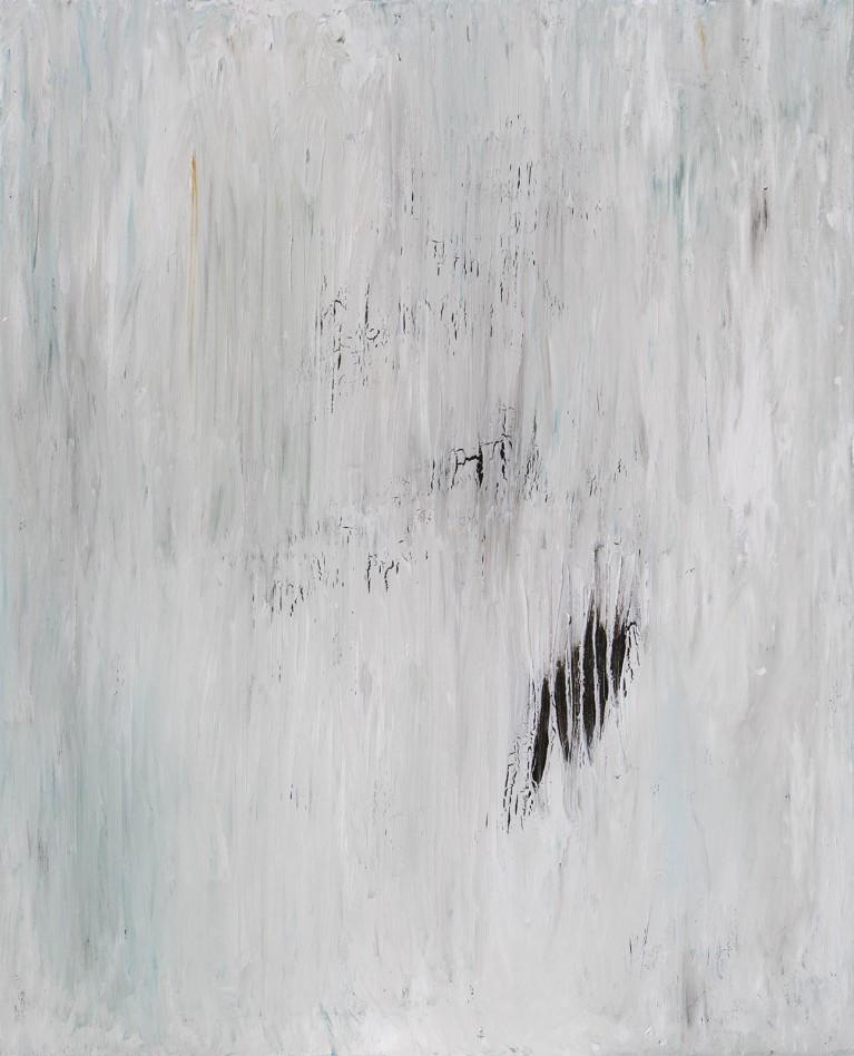 Pablo Manso. BRECHA - mixed media on canvas — 100 cm x 90 cm - 2019