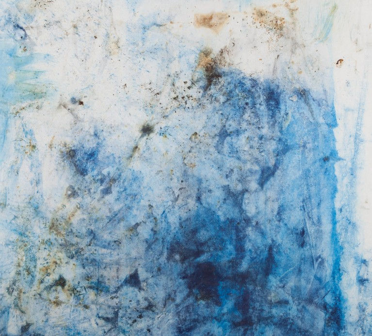 Pablo Manso. COSMIC OCEANS II - Mixed media on canvas — 200 cm x 190 cm - 2017